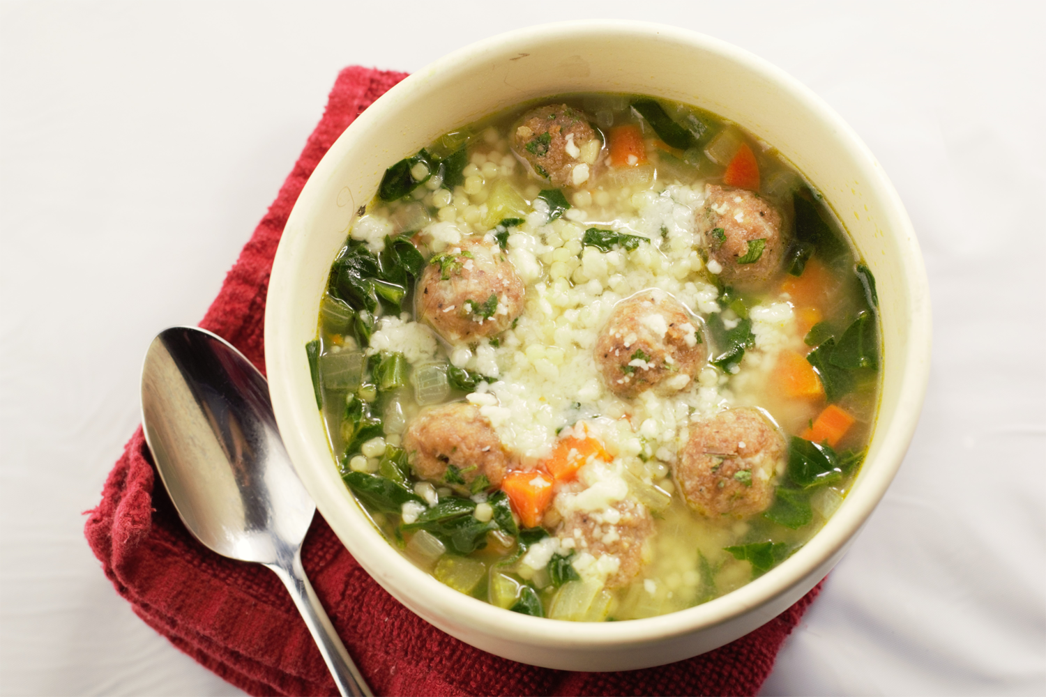 Italian Wedding Soup - Mountain Cravings