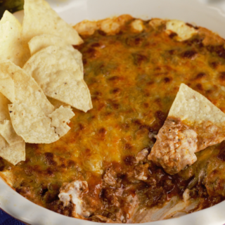 Baked Chili Cheese Dip
