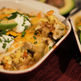 Dining with Dimon: Breakfast Enchiladas