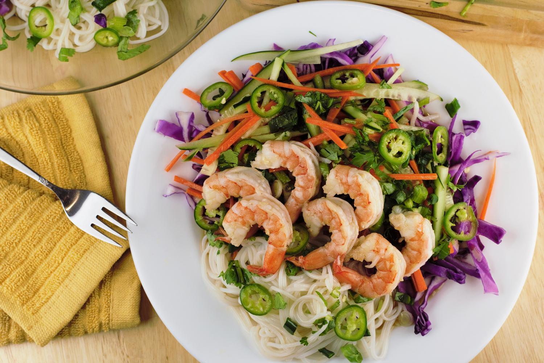 Shrimp Vietnamese Salad