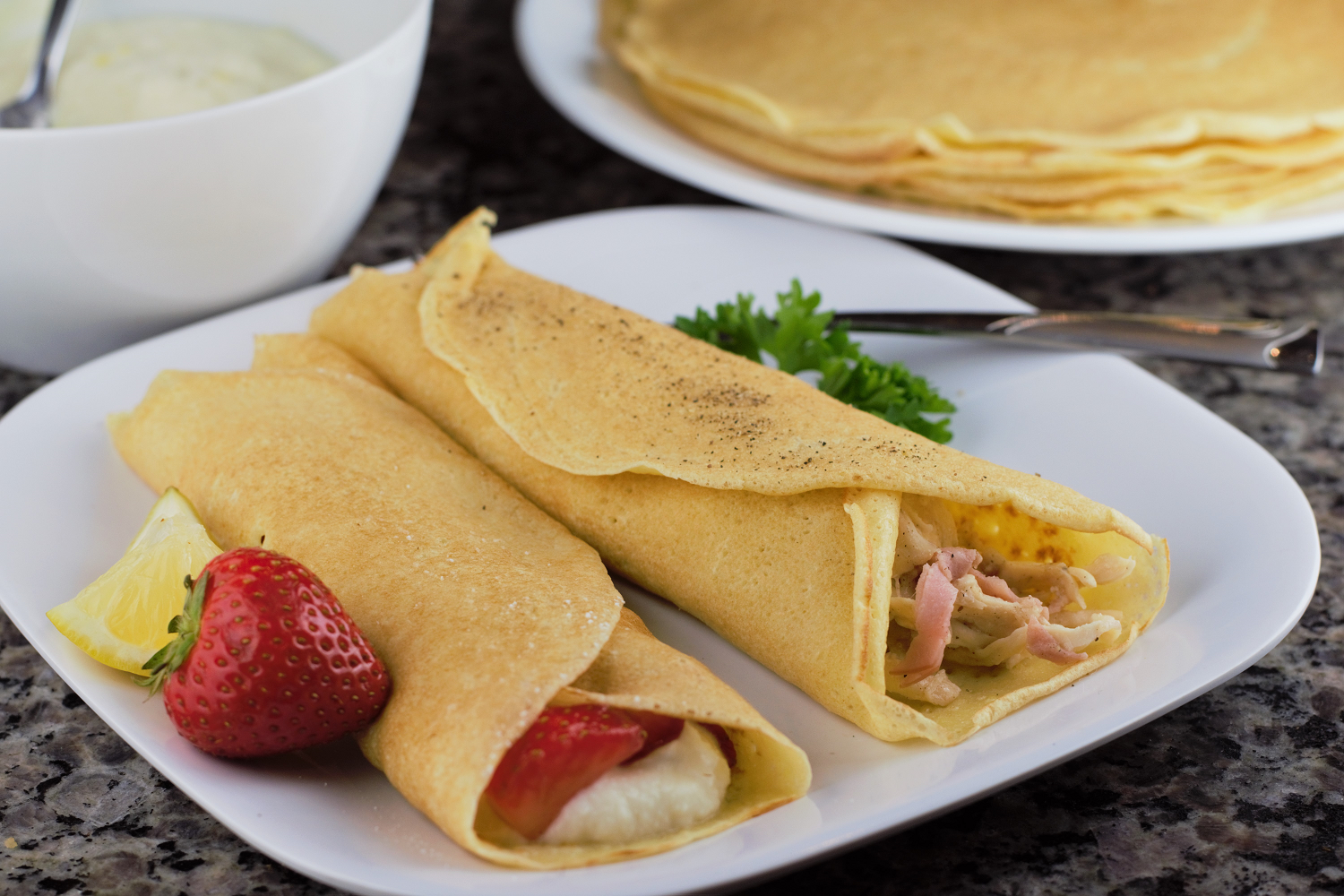 Sweet & Savory Crepes