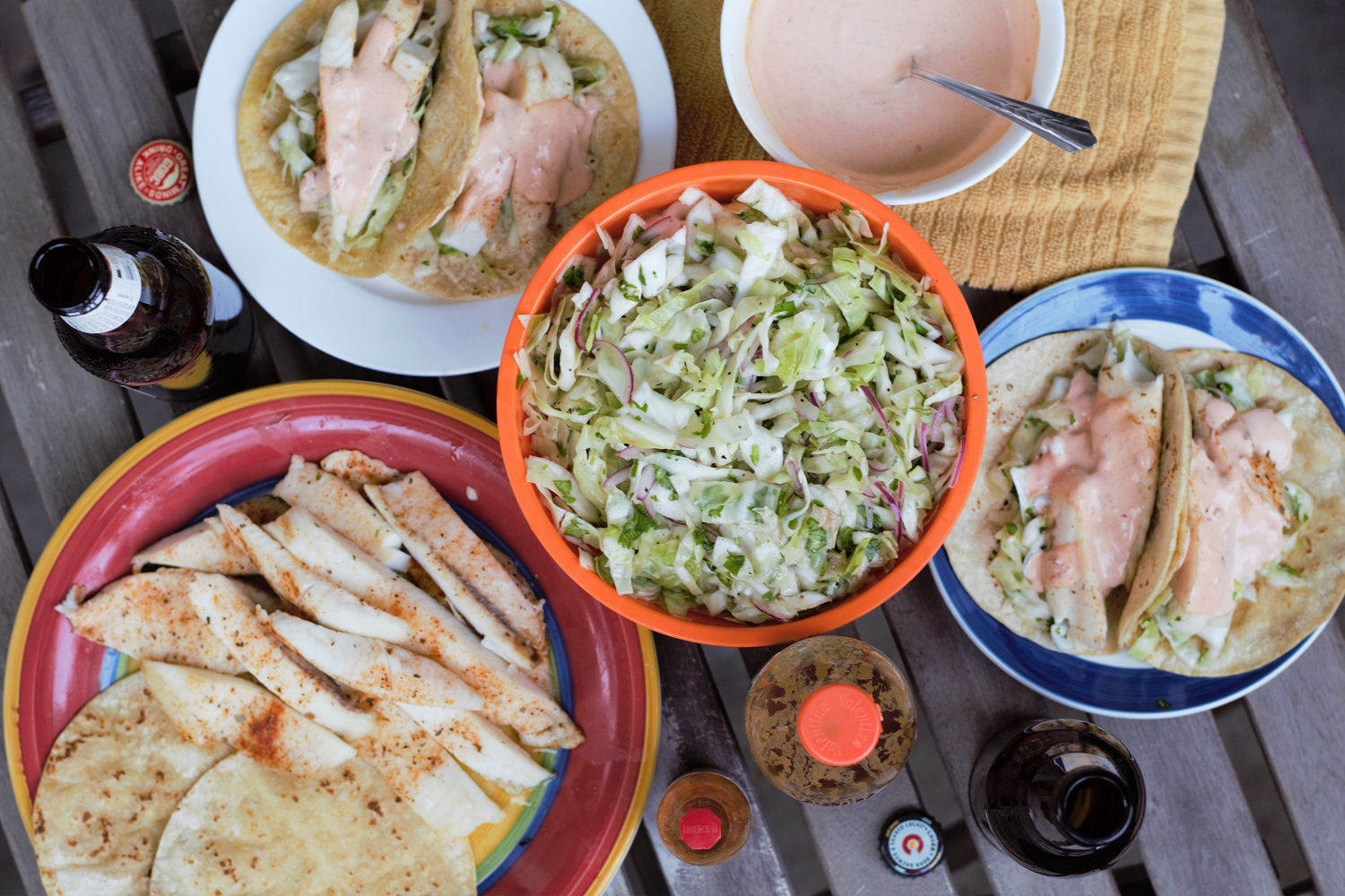 Chipotle lime cabbage fish tacos mountain cravings for Fish tacos cabbage