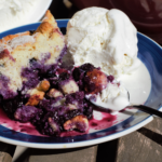 Fresh Blueberry Cobbler | Mountain Cravings