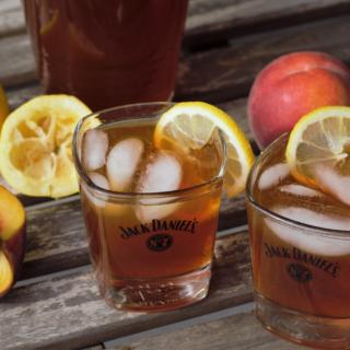 Bourbon Peach Iced Tea