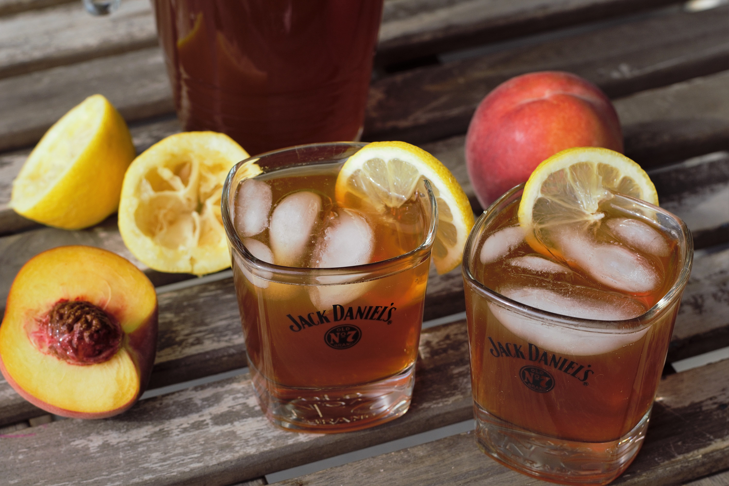 Bourbon Peach Iced Tea | Mountain Cravings