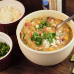 Southwest Roasted Corn Chowder | Mountain Cravings