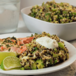Green Goodness Quinoa Salad | Mountain Cravings