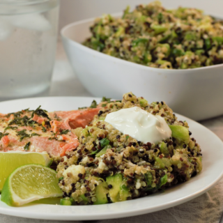 Green Goodness Quinoa Salad