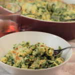 Spinach Artichoke Pasta Bake | Mountain Cravings