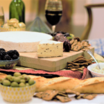 Wine, Cheese, Bread, Happiness | Mountain Cravings