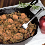 Apple & Rosemary Chicken Sausage Skillet | Mountain Cravings