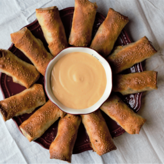 Cheeseburger Eggrolls | Mountain Cravings
