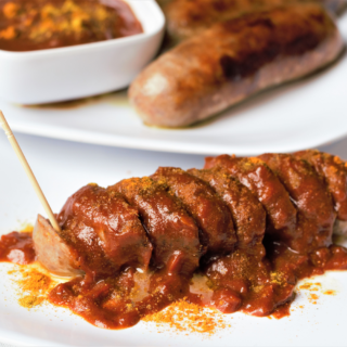 Currywurst Bites | Mountain Cravings