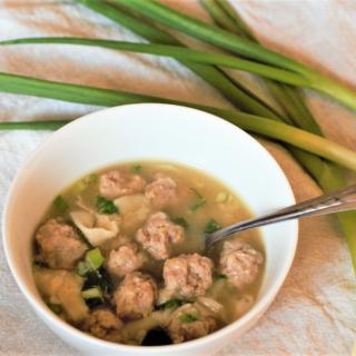 Lazy Wonton Soup | Mountain Cravings
