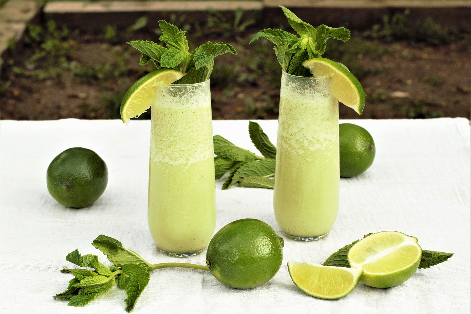 Coconut mojitos melt the moment they hit your tongue, with unbelievably refreshing mint & lime and wonderfully velvety coconut cream.