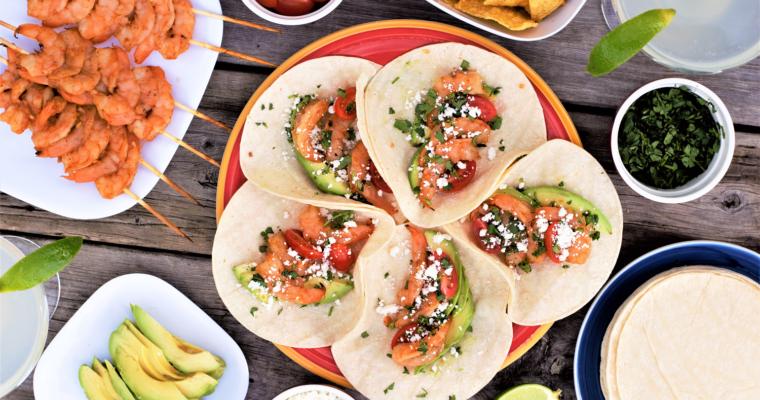 Grilled Tequila Shrimp Tacos