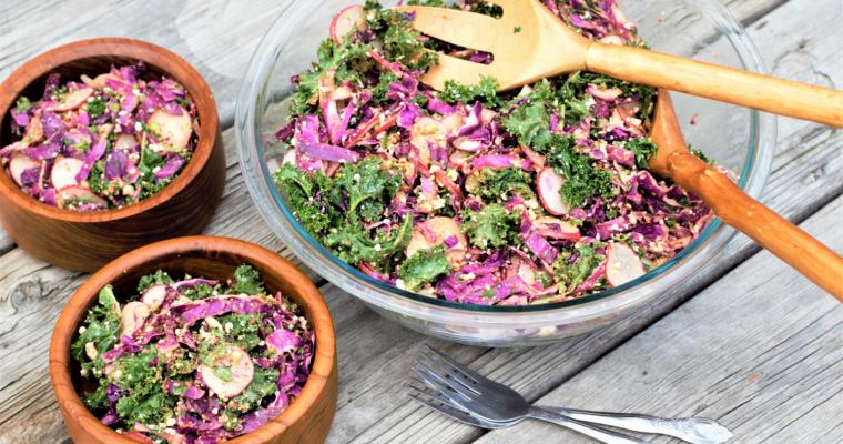 Kale Slaw Salad