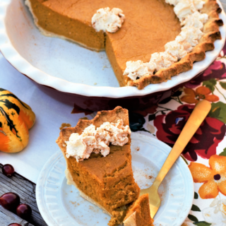 Friendsgiving: Bourbon Pumpkin Pie