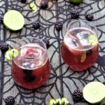 El Diablo twists together blackberries, lime, & ginger for a sweetly-spiced bubbly drink you'll love to sip all night long.