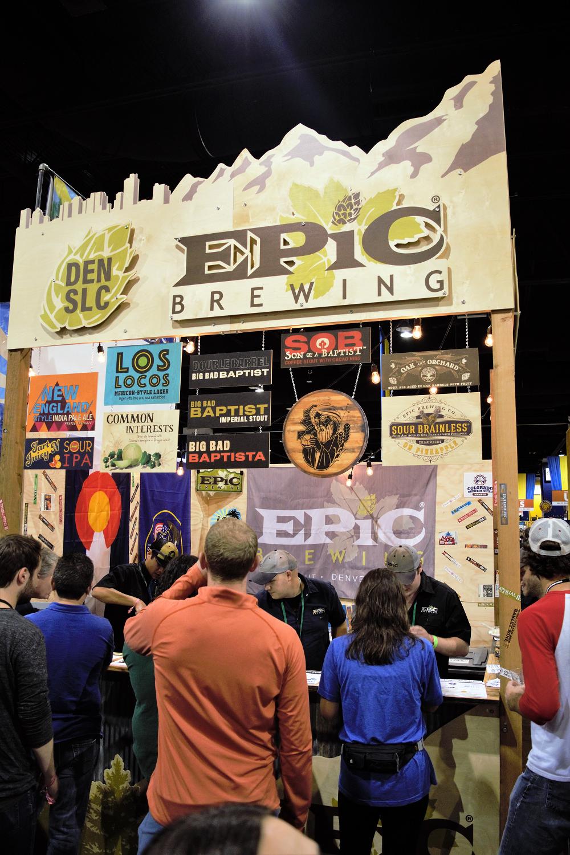 2017 Great American Beer Festival Winning Beer Map
