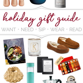 Holiday Gift Guide: Want, Need, Sip, Wear, Read