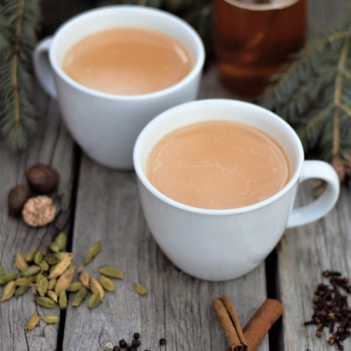Cardamom Honey Chai