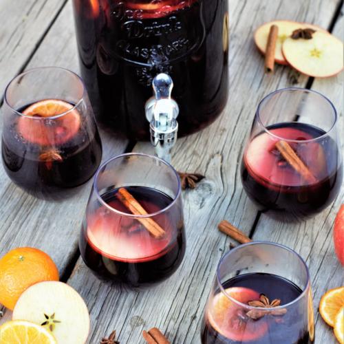 Christmas Cider Sangria