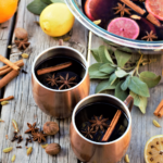 Warm up with a mug of hot mulled wine steeped with citrus, cider, & holiday spices! Glühwein's sweet, spicy aroma will make your home smell simply heavenly.