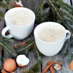 Sous vide pasteurizes the eggs, mellows the booze, & eliminates the need for aging in this rich eggnog steeped with fresh nutmeg, cinnamon, & vanilla beans.