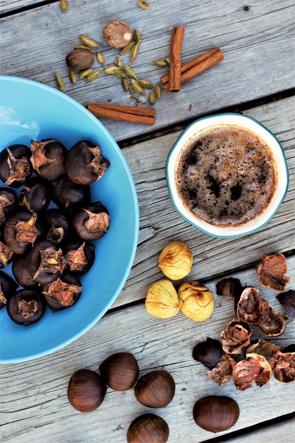 Spiced Butter Roasted Chestnuts – Mountain Cravings