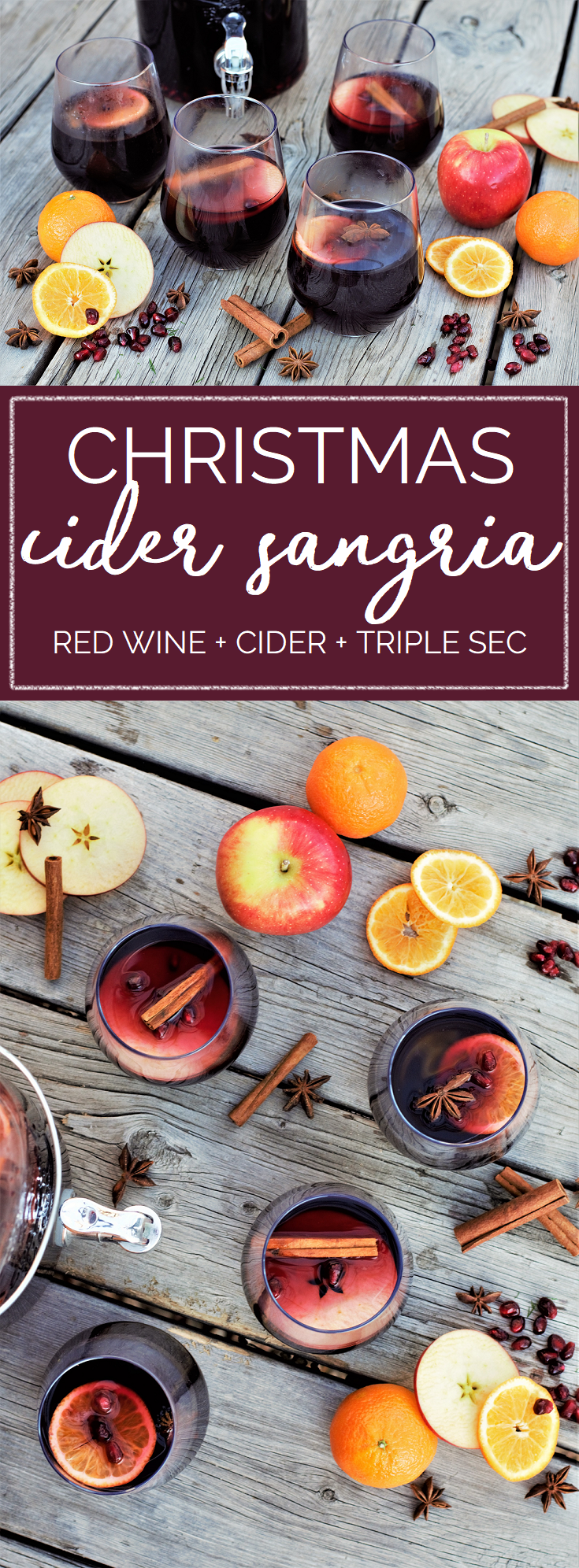 winter sangria is here for every holiday celebration sangria is a year round favorite because its so quick to make and always looks beautiful with fresh - 12 Drinks Of Christmas