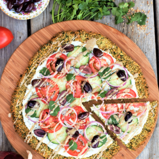Loaded Falafel Pizza