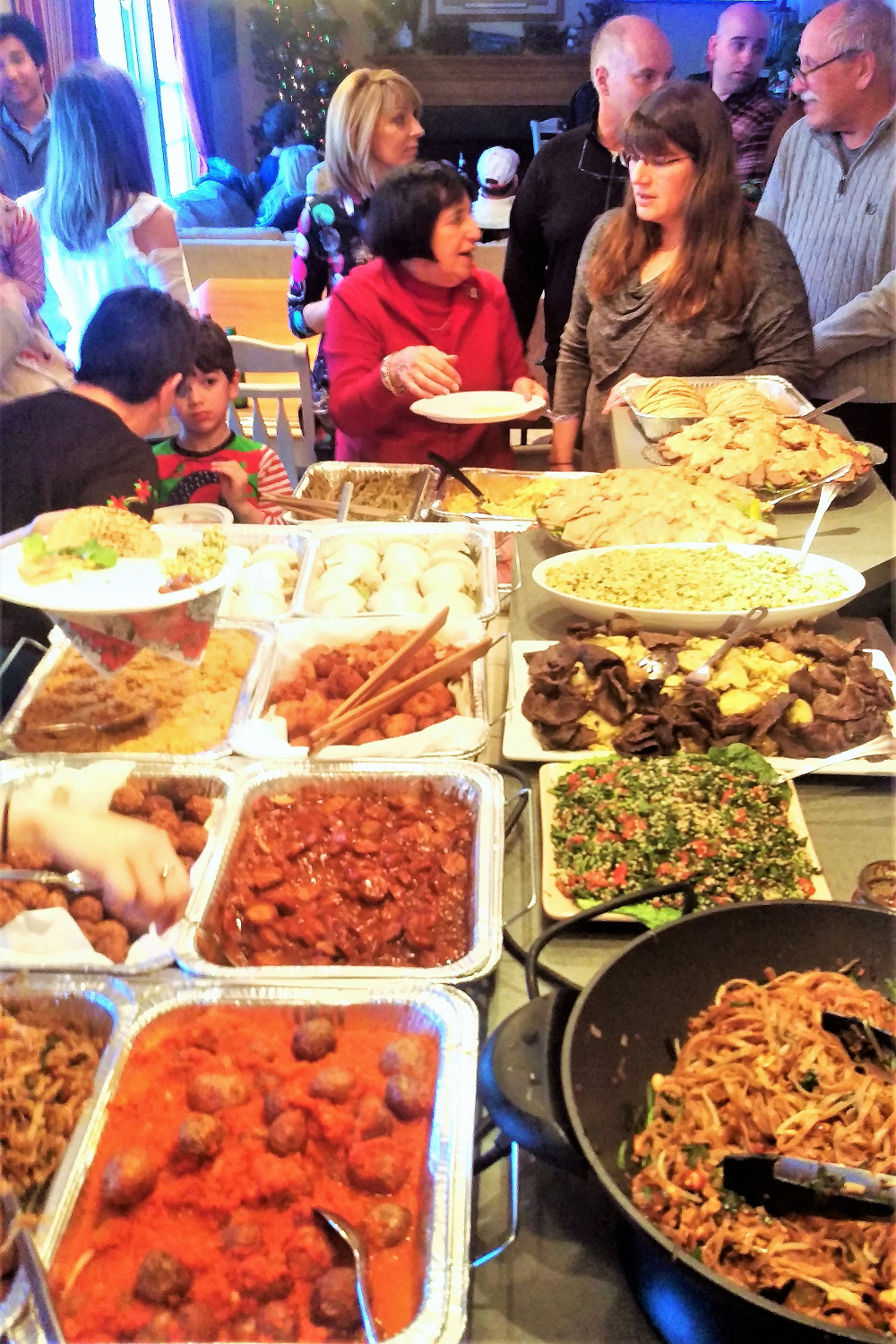 Our sprawling American-Sicilian family, an enormous feast of Street Foods from around the world, and a recipe for fluffy, tender pork belly bao buns!