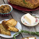 Savory soda bread packed with creamy caramelized onions & rosemary is an easy no-knead, no-rest, six-ingredient bread recipe that's worth making all year round!