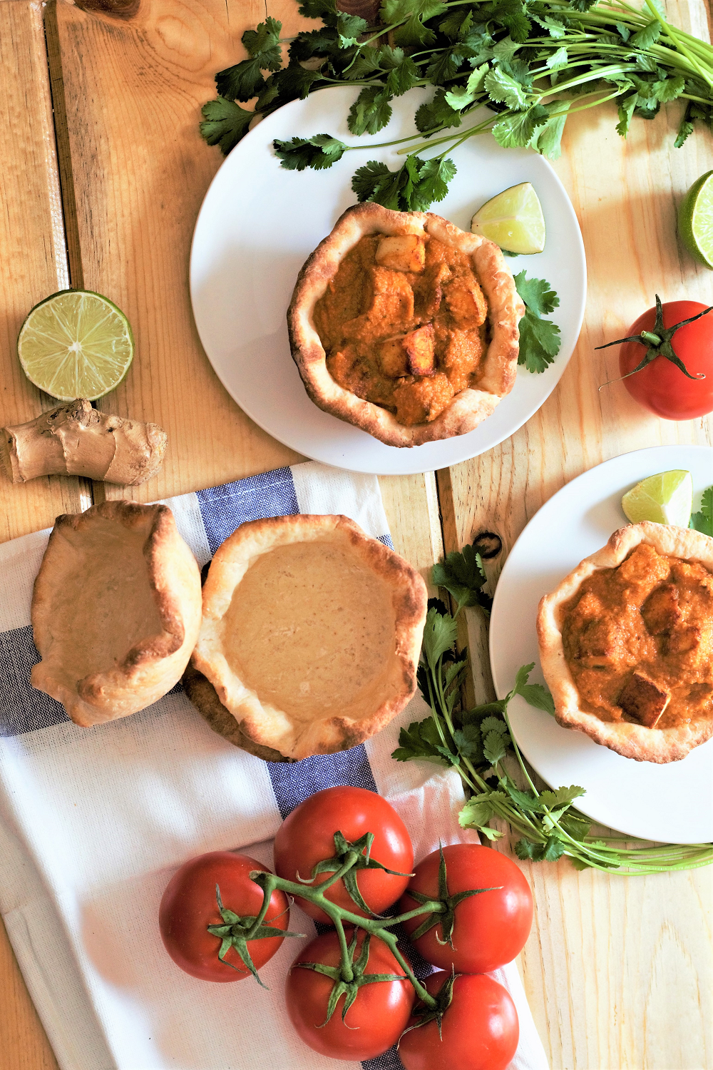 My favorite rich, creamy butter masala trades the usual chicken for fresh paneer cheese! Serve it up in a naan bread bowl for pure comfort food bliss.
