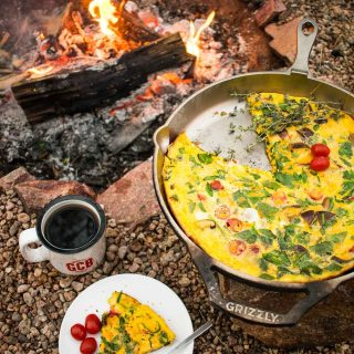 Campfire Crustless Quiche