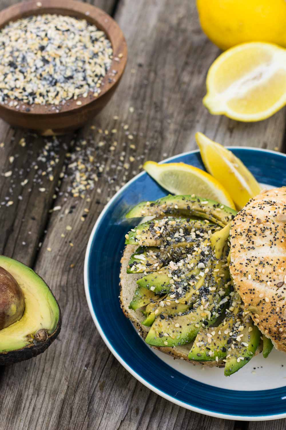 Everything seasoning for avocado toast, baked nuggets, salads, and more - this salty blend of goodness goes on everything, pun totally intended.