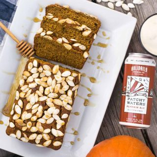 Gluten-Free Pumpkin Beer Bread