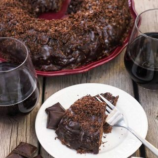 Red Wine Chocolate Bundt